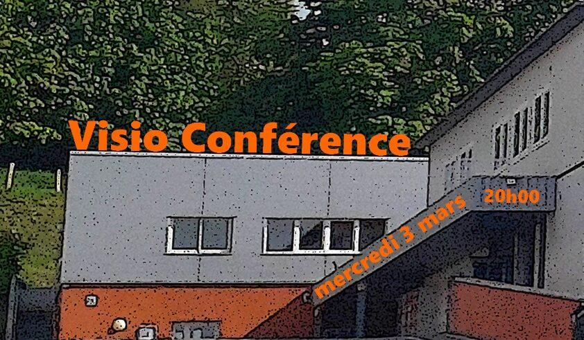 Visio conférence mercredi 3 mars